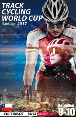 Weltcup Poster Chile Santiago 09.12. 10.12.2017